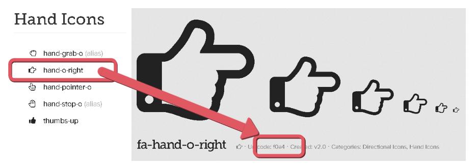 FontAwesomeの使い方
