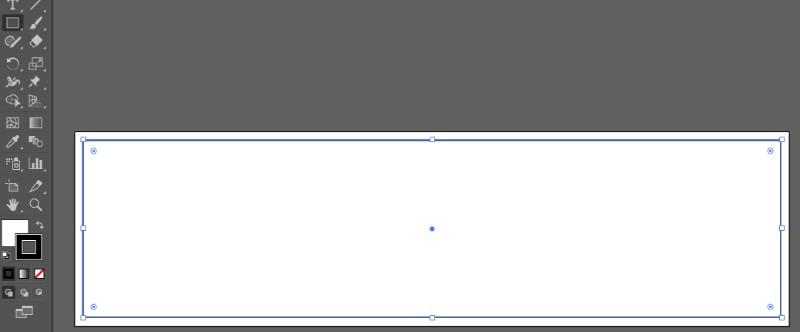 長方形ツールで白背景を用意