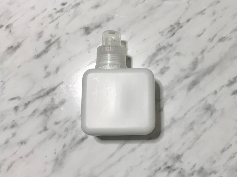 セリアの入浴剤ボトル