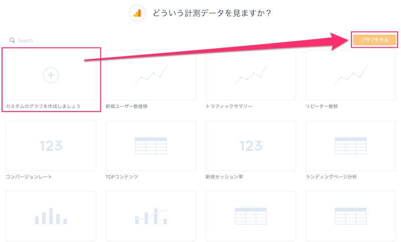 Datadeckでオリジナルのグラフを作る方法